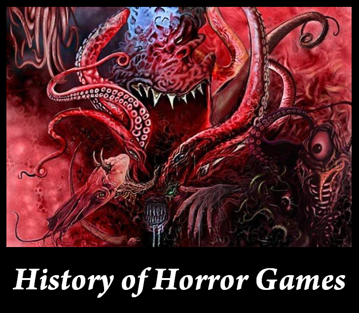 History of Horror Games
