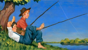 Tom Sawyer Huck Finn