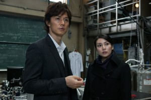 Suspect X - The woman on the left plays Mitsuko (Scythe lady) in Battle Royale.