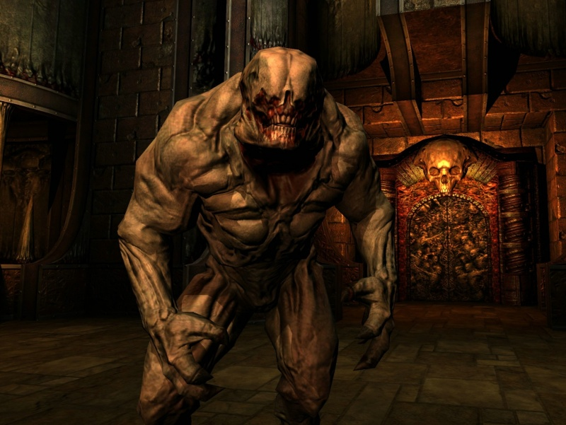 Doom 3 was one of the first of the modern Shock horror games, with the original mechanic of only being able to handle a gun or a flashlight so enemies would often catch you off-guard. The BFG edition now has a mounted flashlight with no option to take off sadly.