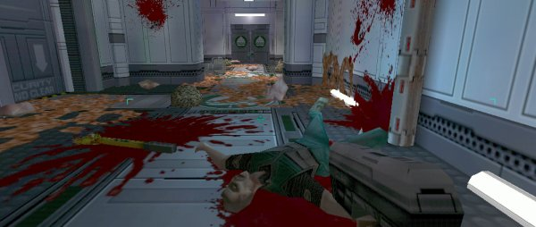 System Shock 2 and a whole lot of body.