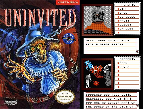 The Uninvited NES