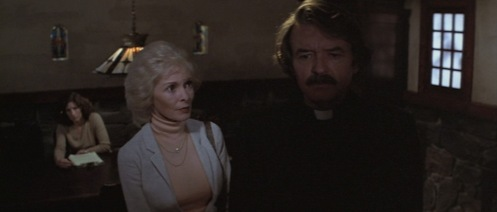 Left, Janet Leigh. Right, Edgar Allen Poe.