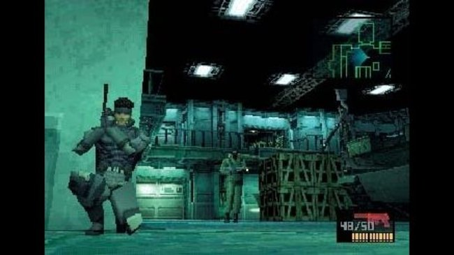 Image result for metal gear solid ps1