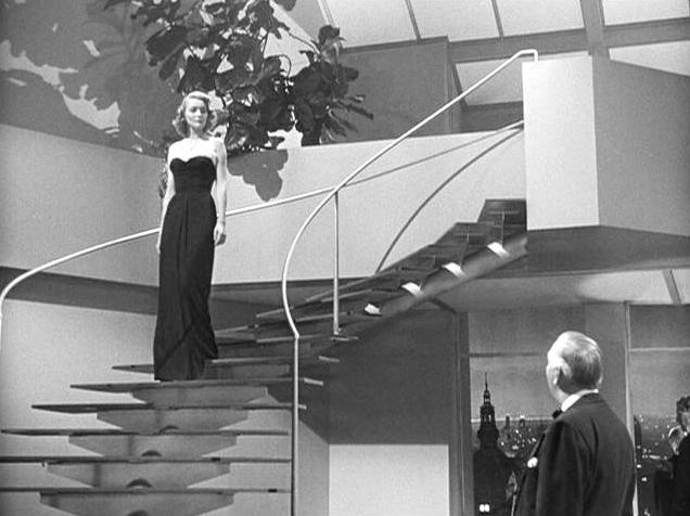 The 1949 film of the Fountainhead.