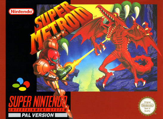 Super Metroid SNES Pal