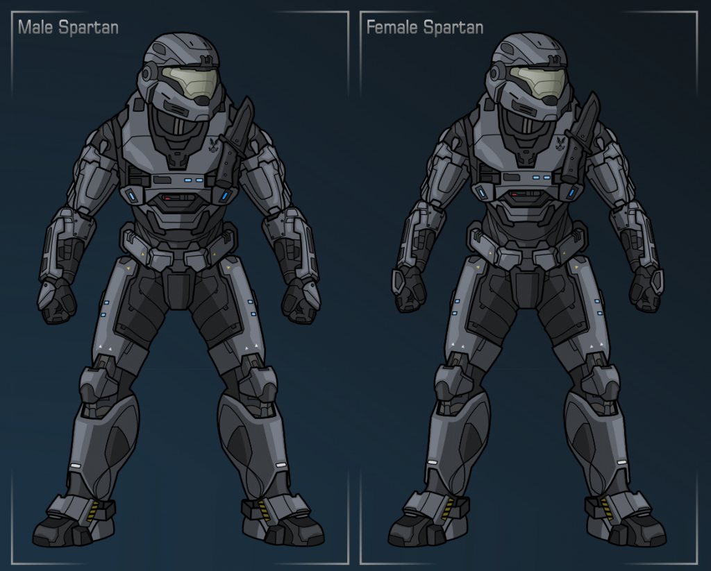 Lady Spartan Halo Reach