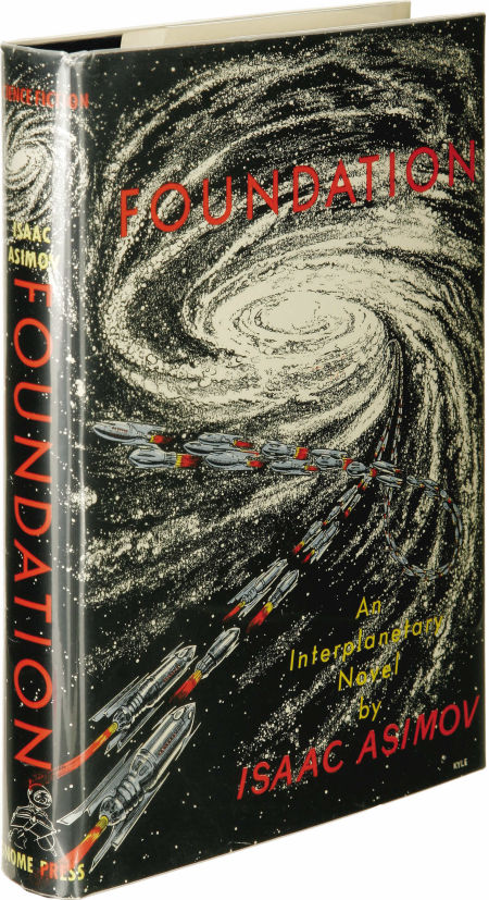 Foundation First edition Asimov