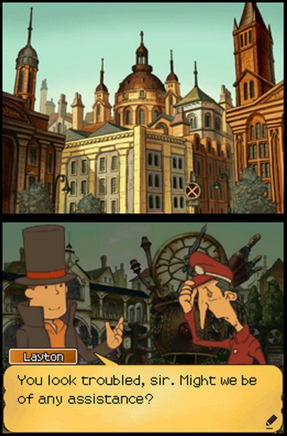 Professor Layton Lost Future
