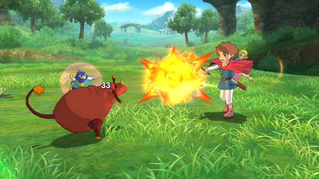 Ni No Kuni Battle fight