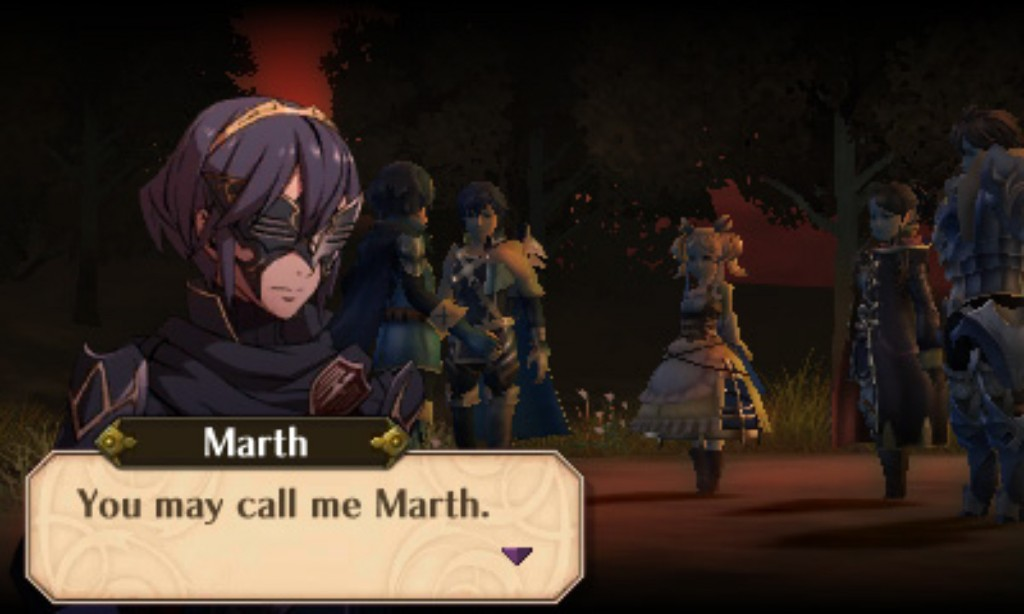 Marth Fire Emblem Awakening