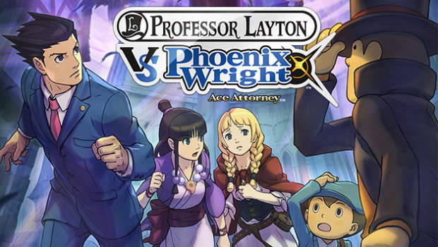 Ace Attorney Professor Layton