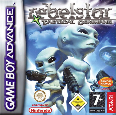 Rebelstar Tactical Gameboy