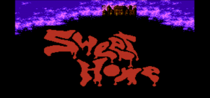 Sweet Home Banner (Halloween 2013 Special: Sweet Home)